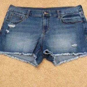 Old Navy denim cut off shorts